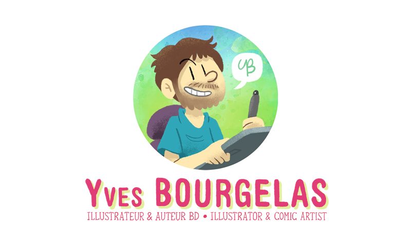 Yves Bourgelas: Illustrateur, auteur de bande dessinée, et DJ/producteur de musique! -- Illustrator, comic artist, and DJ/music producer!